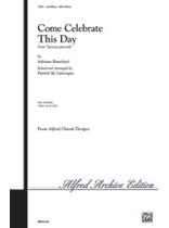 Adriano Banchieri - Come Celebrate This Day - Music Book