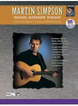 Martin Simpson - Martin Simpson Teaches Alternate Tunings - Music Book