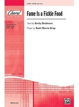 Fame Is a Fickle Food Music Book