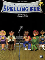 William Finn - The 25th Annual Putnam County Spelling Bee - Music Book