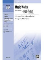 "Jarvis Cocker - Magic Works (from ""Harry Potter and the Goblet of Fire"") - Music Book"