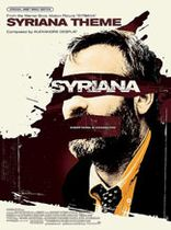 Alexandre Desplat - Syriana Theme Music Book