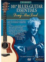 Doug MacLeod - Acoustic Masterclass Series: Doug MacLeod -- 101 Blues Guitar Essentials - Music Book