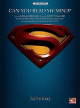 "John Williams - Can You Read My Mind? (Love Theme from ""Superman"") Music Book"