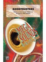 Ray Parker Jr. - Ghostbusters - Conductor's Score - Music Book
