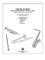 License to Scat - Instrumental Parts Music Book