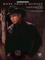 Garth Brooks - More Than a Memory Music Book