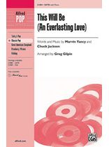 This Will Be (An Everlasting Love) - SATB Music Book