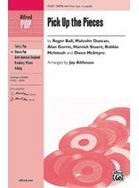 Pick Up the Pieces - SATB Music Book