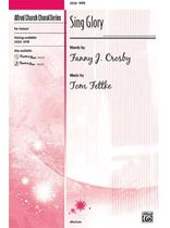 Tom Fettke - Sing Glory - SATB Music Book