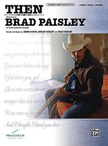 Brad Paisley - Then Music Book