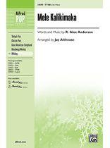 Alex Anderson - Mele Kalikimaka - TTBB - Music Book