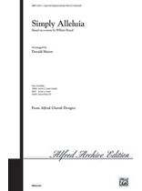 William Boyce - Simply Alleluia - Music Book