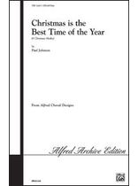 Paul Johnson - Christmas Is the Best Time of the Year (A Christmas Medley) - Music Book
