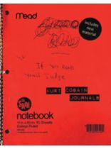 Kurt Cobain - Kurt Cobain Journals - Music Book