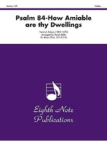 Heinrich Schutz - Psalm 84 How Amiable Are Thy Dwellings - Brass Choir - Music Book