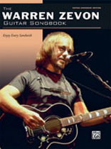 Warren Zevon - The Warren Zevon Songbook - Music Book