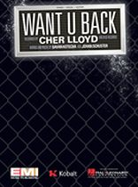 Cher Lloyd - Want U Back - Music Book