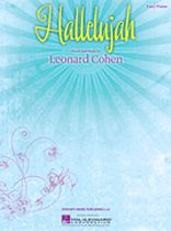 Leonard Cohen - Hallelujah - Music Book