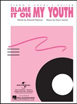Oscar Levant - Blame It on My Youth - Music Book
