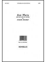 Jacques Arcadelt - Ave Maria - Music Book
