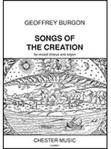 Geoffrey Burgon - Songs of the Creation - Music Book