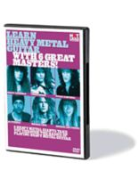 Learn Heavy Metal Guitar With 6 Great Masters! - Music Book