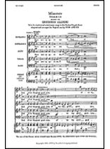 Gregorio Allegri - Miserere (Psalm LI) - Music Book