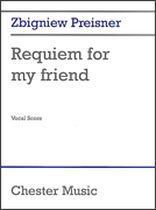 Zbigniew Preisner - Requiem for My Friend - Music Book