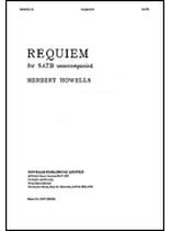 Herbert Howells - Requiem - Music Book