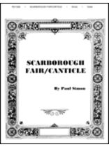 Scarborough Fair/Canticle - Music Book