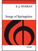E.J. Moeran - Songs of Springtime - Music Book