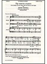 Henry Purcell - Thy Word Is a Lantern - Music Book