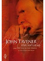 John Taverner - Five Anthems from the Veil of the Temple - Music Book
