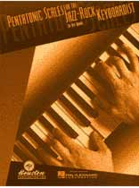 Jeff Burns - Pentatonic Scales for the Jazz-Rock Keyboardist - Music Book