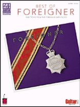 Foreigner - The Best of Foreigner - Music Book