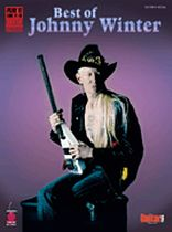 Johnny Winter - Best of Johnny Winter - Music Book