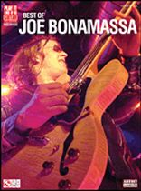 Joe Bonamassa - Best of Joe Bonamassa - Music Book