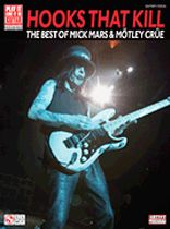 Hooks That Kill - The Best of Mick Mars & Motley Crne - Music Book