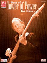 Best of Tower of Power for Bass - Music Book