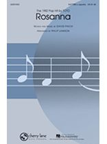 David Paich - Rosanna - SATTBB - Music Book