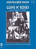 Axl Rose - November Rain - Music Book