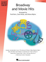 Broadway and Movie Hits - Hal Leonard Student Piano Library - Level 5
