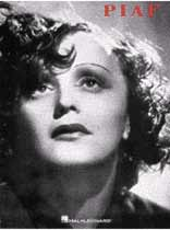 Edith Piaf - Edith Piaf Song Collection - Music Book