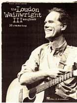 Loudon Wainwright III - Loudon Wainwright III - Songbook - Music Book