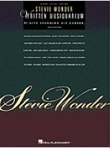 Stevie Wonder - Written Musiquarium - Music Book
