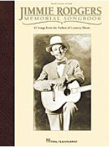 Jimmie Rodgers - Jimmie Rodgers Memorial Songbook - Music Book