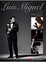 Luis Miguel - Luis Miguel - Selections From Romance, Segundo Romance, and Romances - Music Book