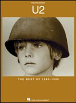 U2 - U2 - The Best of 1980-1990 - P/V/G - Music Book