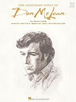 Don McLean - The Legendary Songs of Don McLean - Music Book